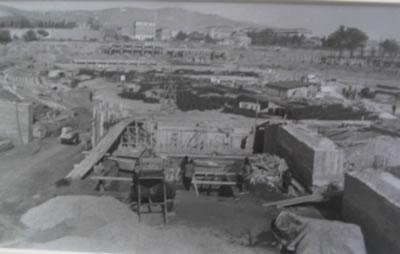 Camp Nou, la construcció