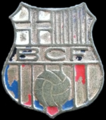FCBarcelona old badge